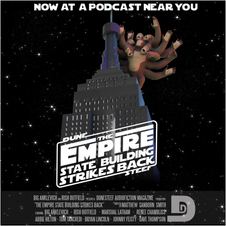THE EMPIRE STATE BUILDING STRIKES BACK COVER ART
